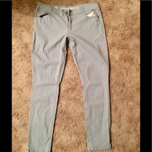 Mossimo Supply baby blue sparkle jeans 13